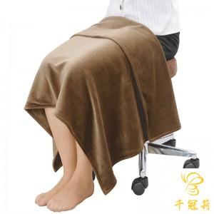 天鹅绒膝毯