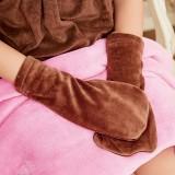 天鹅绒手套