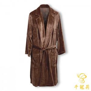 CKL天鹅绒浴袍