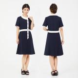 Veriella连身裙12号深蓝款